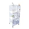 "24"" X 22"" Triple Stack Cage with bird-proof locks - CALL FOR PRICING"