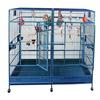 "80"" X 40"" Double Macaw Cage with Removable Divider - CALL FOR PRICING"
